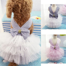Load image into Gallery viewer, 2019 Hot Pet Dogs Ballet vestidos Clothes Puppy Cat Lace Tutu Dress Chihuahua Cute Dog Apparel Dresses Supplies New Dogs Costume