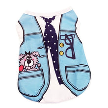 Load image into Gallery viewer, New Cute Puppy Vest Shirts Pet Dog Clothes Hoodies Coats Funny Costumes Spring Clothing For Dog Summer Puppy Dog Shirts Clothes