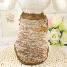 Load image into Gallery viewer, Dog Clothes For Small Dogs Cats Soft Pet Dog Sweater Clothing For Dog Winter Chihuahua Clothes Classic Pet Outfit Ropa Perro Pet