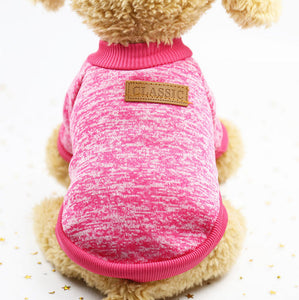 Dog Clothes For Small dog jersey cat Sweater Clothing For Pet cats Chihuahua warm dogs jersey autumn and winter sweater to keep
