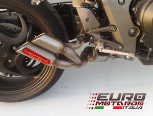Honda CB 1000 R 2008-2016 GPR Exhaust Slip-On Silencer Thunder Slash Road Legal