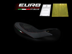 Ducati Hypermotard 2013-2018 821 939 Luimoto Diamond Suede Seat Cover 3 Colors