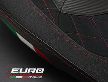 Load image into Gallery viewer, Ducati Hypermotard 2013-2018 821 939 Luimoto Diamond Suede Seat Cover 3 Colors