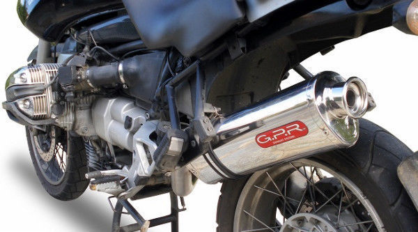 BMW R1100GS R 1100 GS 94-98 GPR Exhaust Systems Trioval Slipon Muffler