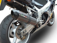 Load image into Gallery viewer, Suzuki GSXR 1000 2001-2002 GPR Exhaust Systems GPE CF Slipon Muffler Silencer