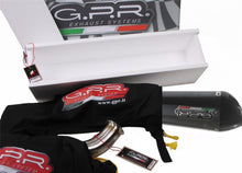 Load image into Gallery viewer, Cagiva Raptor 1000 00-03 GPR Exhaust Systems GPE CF Slipon Mufflers Silencers