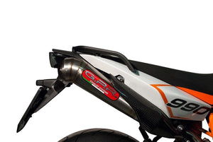 KTM Supermoto SMR 990 08-12 GPR Exhaust Full System Powercone Silencers