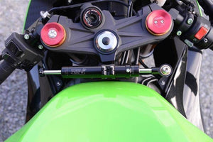 Kawasaki ZX6R 636 2013-2016 Toby Steering Damper Stabilizer & Mount Kit 3 Colors