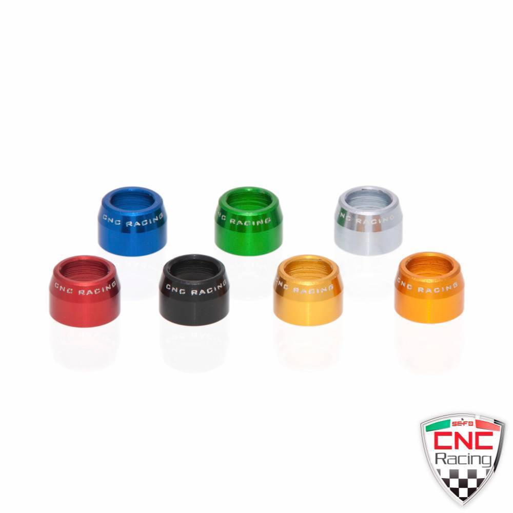 CNC Racing Bleeder Valve Cap 6pc For Brembo Yamaha R6 R1 FZ6 FZ8 FZ1 Fazer XJR