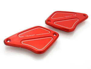 CNC Racing Ducati Diavel Front Brake & Clutch Fluid Tank Caps Set 4 Colors