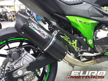 Load image into Gallery viewer, Kawasaki Z800 2013-2016 GPR Exhaust Systems Furore Black Slipon Muffler New