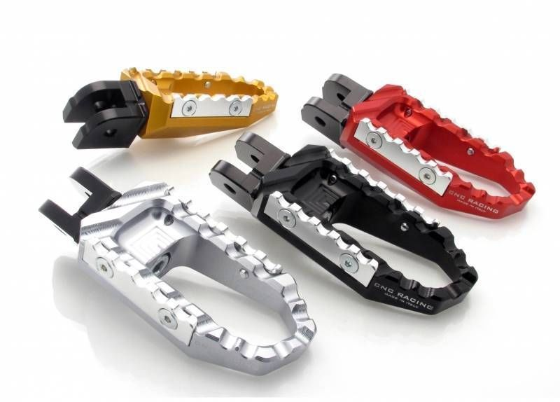 CNC Racing Comfort Foot Pegs 4 Colors Ducati Diavel 1200 /Carbon/Chromo/Strada