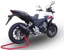 Load image into Gallery viewer, Honda CB500X 2013-2015 GPR Exhaust Furore Black Slipon Silencer Road Legal New
