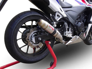 Honda CBR 500 R 2013-18 GPR Exhaust Systems Deeptone Slipon Muffler Silencer Can