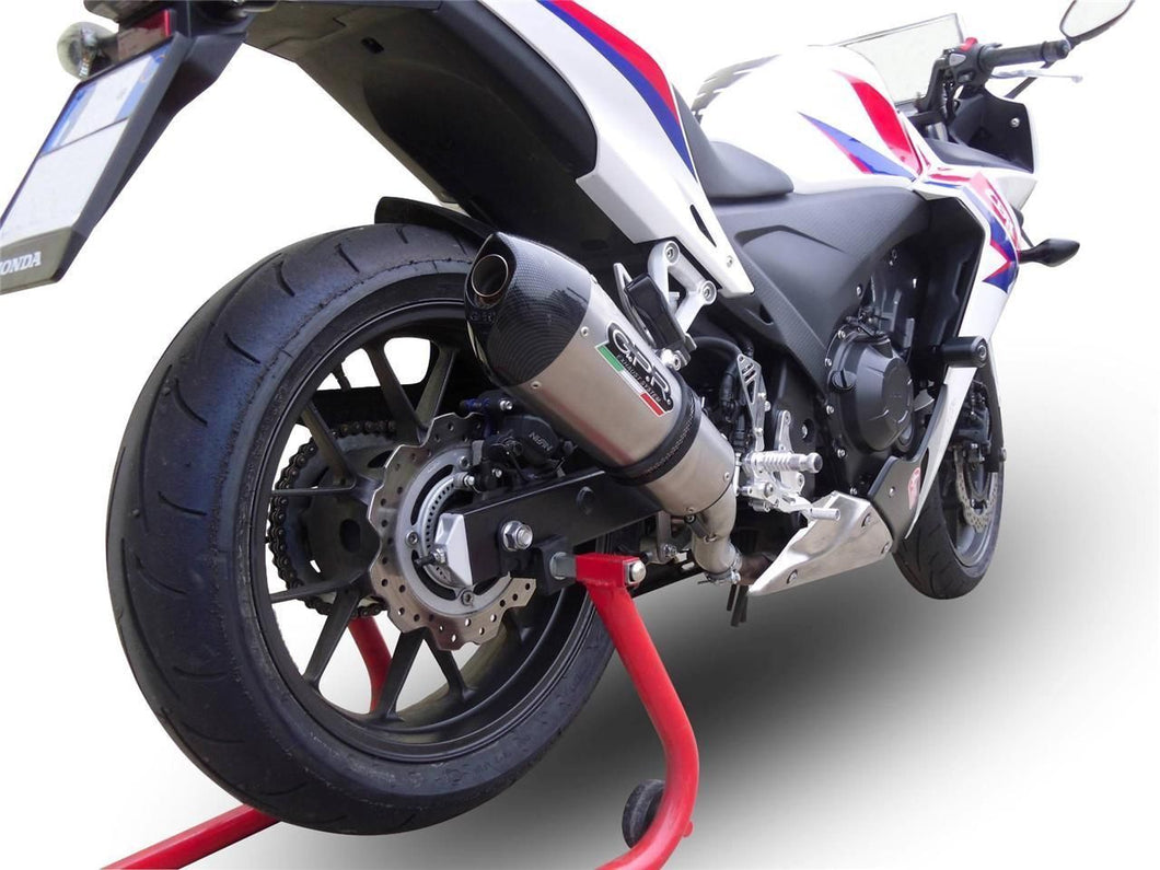 Honda CBR 500 R 2013-2018 GPR Exhaust Full System With GPE Ti Muffler Silencer