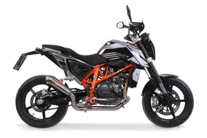 KTM Duke 690 2012-2014 GPR Exhaust Systems Powercone Race Decat Muffler