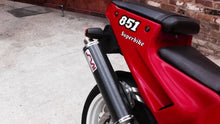 Load image into Gallery viewer, Ducati 851 888 Silmotor Exhaust Full System 50mm With Carbon Round Silencers