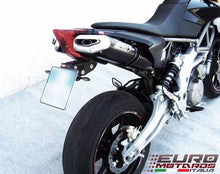 Load image into Gallery viewer, Aprilia Dorsoduro 750 Zard Exhaust Penta Black Ceramic Silencers Road Legal