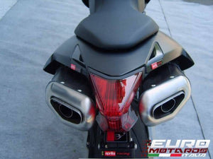 Aprilia Dorsoduro 750 Zard Exhaust Penta Black Ceramic Silencers Road Legal