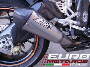Aprilia RSV4 /Factory/R Zard Exhaust Conical Titanium Silencer Carbon Cap