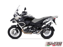 Load image into Gallery viewer, BMW R1200GS & Adventure 2004-2009 Zard Exhaust Penta Black Silencer Carbon Cap
