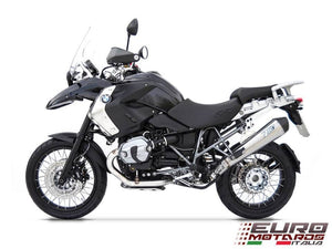 BMW R1200GS & Adventure 2010-2012 Zard Exhaust Conical Polished Silencer