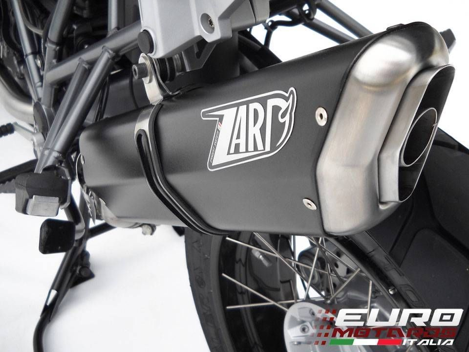 BMW R1200GS & Adventure 2010-2012 Zard Exhaust Penta Ceramic Black Silencer
