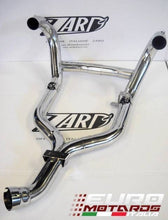 Load image into Gallery viewer, BMW R1200R 2011-2013 Zard Exhaust Steel Collectors Headers Mirror Polished +5HP