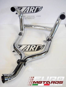 BMW R1200R 2011-2013 Zard Exhaust Steel Collectors Headers Mirror Polished +5HP