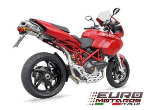 Ducati Multistrada 620 1000 1100 Zard Exhaust Full System With Silencer +2HP