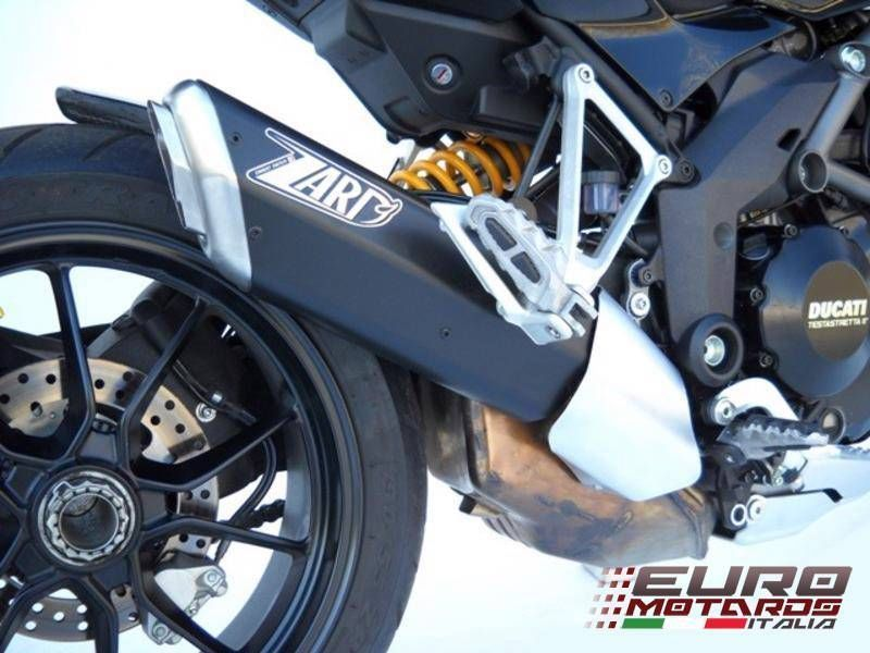 Ducati Multistrada 1200 Zard Exhaust Penta Black Alu Silencer +2HP Road Legal