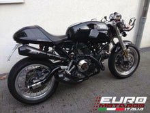 Load image into Gallery viewer, Ducati Paul Smart Sport Classic 1000 Zard Exhaust Full System Black Ceramic +4HP