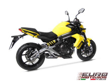 Load image into Gallery viewer, Kawasaki ER6 Ninja 650 Zard Exhaust Full System With Penta Carbon Cap Silencer
