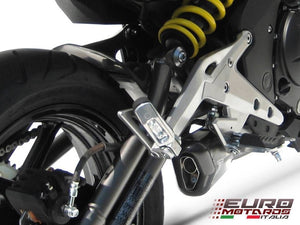 Kawasaki ER6 Ninja 650 Zard Exhaust Full System With Penta Carbon Cap Silencer