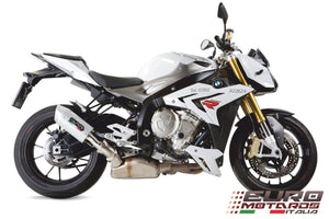 Suzuki DR Big 800 1990 2In1 GPR Exhaust Systems Albus White Slipon Silencer