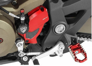 Ducati Monster 1200 /R/S 14-16 CNC Racing Front Sprocket Cover With Carbon Inlay