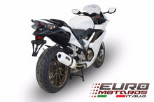 Load image into Gallery viewer, Honda VFR 800 2014-2015 GPR Exhaust Albus White Silencer Muffler Road Legal