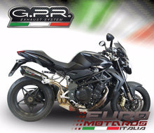 Load image into Gallery viewer, MV Agusta Brutale 920 2010-11 GPR Exhaust GPE CF Carbon Look Silencer Road Legal