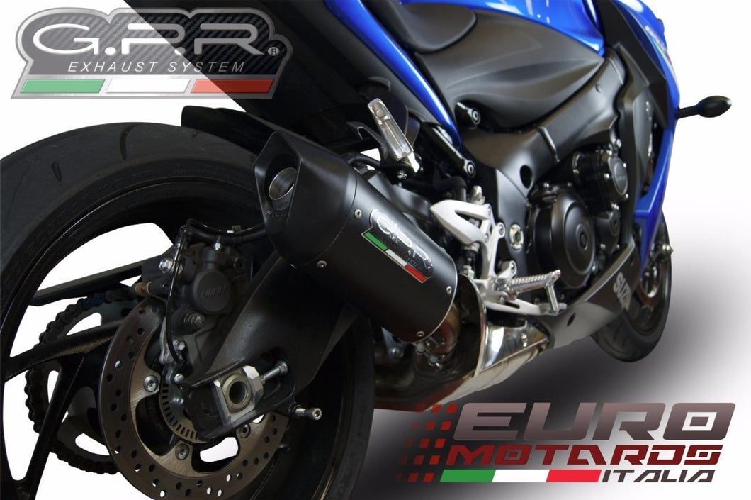 Suzuki GSXS 1000 2015-2017 GPR Exhaust Furore Nero Silencer Road Legal New