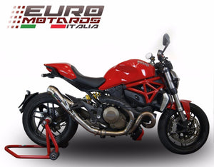 Ducati Monster 821 2015-2016 GPR Exhaust Powercone Silencer Road Legal