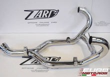 Load image into Gallery viewer, BMW R1200R 2009-2010 Zard Exhaust Steel Collectors Headers Mirror Polished +5HP