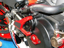 Load image into Gallery viewer, Ducabike Ducati Diavel Billet Water Pump Protector Cover Red