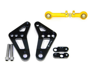 Ducati 899 1199 Panigale S/R Ducabike Adjustable Suspension Rear Link Black