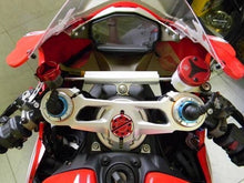 Load image into Gallery viewer, Ducabike Adjustable Clipons Handlebars Ducati 1199 Panigale Marzocchi 57mm