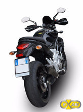 Load image into Gallery viewer, Suzuki Gladius SFV 650 2009-2015 EXAN X-Black Evo Exhaust Silencer Carbon Cap