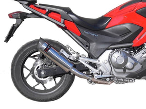 Honda NC700 X/S i.e. 2012-2013 Endy Exhaust Silencer XR-3 Slip-On