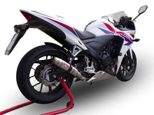 Load image into Gallery viewer, Honda CBR 500 R 2013-2018 GPR Exhaust Full System With Deeptone Inox Muffler