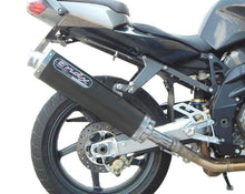Load image into Gallery viewer, Kawasaki Z750 S 2005-2006 Endy Exhaust Silencer Supra Black