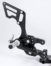 Load image into Gallery viewer, Suzuki GSXR 750 2006-2010 ARP Adjustable Rearsets RSS05 Standard & Reverse Shift