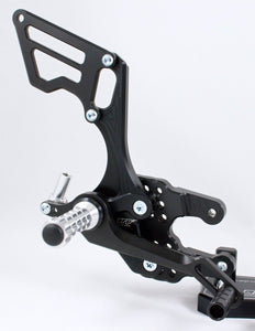 Suzuki GSXR 750 2006-2010 ARP Adjustable Rearsets RSS05 Standard & Reverse Shift